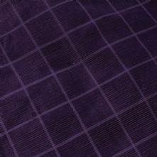 1 Euro Bargain Purple 'Square' Corduroy 1m Remnant